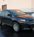 mazda cx 7 2011 black i sport gasoline 4 cylinders front wheel drive automatic 19153