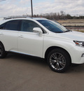 lexus rx 350 2014 white suv gasoline 6 cylinders front wheel drive shiftable automatic 77546