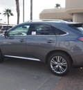 lexus rx 350 2014 gray suv gasoline 6 cylinders front wheel drive shiftable automatic 77546