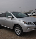 lexus rx 350 2014 silver suv gasoline 6 cylinders front wheel drive automatic 77074
