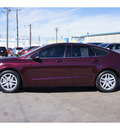 ford fusion 2013 maroon sedan se gasoline 4 cylinders front wheel drive automatic 79110