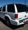 oldsmobile bravada 2000 white suv v6 automatic 81212