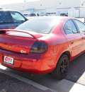 dodge neon 2004 red sedan sxt 4 cylinders 5 speed manual 81212