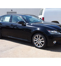lexus gs 350 2014 black sedan gasoline 6 cylinders rear wheel drive automatic 77074