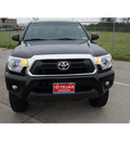toyota tacoma 2012 black prerunner v6 6 cylinders automatic 77587