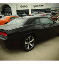 dodge challenger 2014 black coupe rt gasoline 8 cylinders rear wheel drive automatic 77375