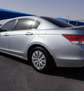 honda accord 2010 silver sedan lx gasoline 4 cylinders front wheel drive automatic 76234