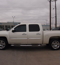 chevrolet silverado 1500 2009 white ltz flex fuel 8 cylinders 4 wheel drive automatic 79110