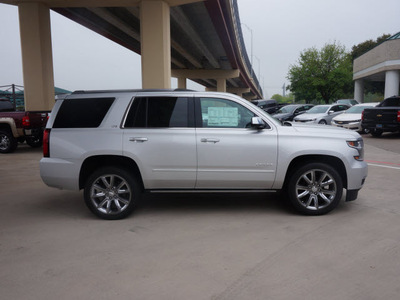 chevrolet tahoe 2015 silver suv ltz 8 cylinders automatic 76051