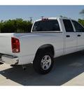 dodge ram 1500 2006 white pickup truck slt 8 cylinders automatic 76234