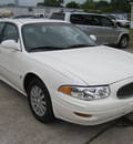 buick lesabre 2005 white sedan custom gasoline 6 cylinders front wheel drive automatic 77379