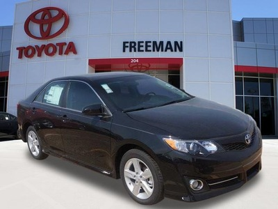 toyota camry 2014 black sedan se 4 cylinders 6 speed automatic 76053