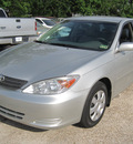 toyota camry 2003 silver sedan le gasoline 4 cylinders front wheel drive automatic 77379