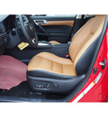 lexus ct 200h 2014 red hatchback hybrid 4 cylinders front wheel drive cvt 77546