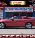 ford mustang 2007 dk  red coupe gt premium 8 cylinders automatic 78744