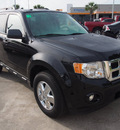 ford escape 2012 black suv xlt gasoline 4 cylinders front wheel drive 6 speed automatic 77539