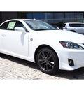 lexus is 350c 2014 white f sport gasoline 6 cylinders rear wheel drive automatic 77074