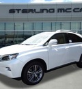 lexus rx 350 2015 white suv gasoline 6 cylinders front wheel drive automatic 77074