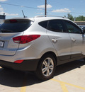 hyundai tucson 2013 black gls gasoline 4 cylinders all whee drive automatic 79110