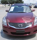 nissan altima 2010 dk  red sedan 4dr sdn i4 cvt 2 5 s gasoline 4 cylinders front wheel drive automatic 76108
