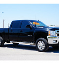 chevrolet silverado 2500hd 2011 black ltz 8 cylinders automatic 78840
