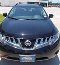 nissan murano 2010 black suv sl gasoline 6 cylinders front wheel drive cvt 75606