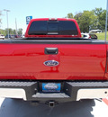 ford f 250 super duty 2010 red lariat diesel 8 cylinders 4 wheel drive automatic 75606