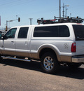 ford f 250 super duty 2012 white lariat biodiesel 8 cylinders 4 wheel drive automatic 79110