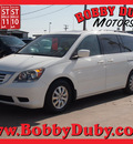 honda odyssey 2008 white van ex l gasoline 6 cylinders front wheel drive automatic 79110