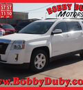 gmc terrain 2012 white suv sle 2 gasoline 4 cylinders front wheel drive automatic 79110