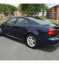 pontiac grand prix 2007 dk  blue sedan gt gasoline 6 cylinders front wheel drive automatic 76234