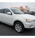 mitsubishi outlander 2012 white suv gt 6 cylinders automatic 78861
