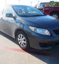 toyota corolla 2010 dk  gray sedan le gasoline 4 cylinders front wheel drive automatic with overdrive 77539