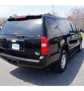 chevrolet suburban 2012 black suv lt 1500 flex fuel 8 cylinders 4 wheel drive 6 speed automatic 07712