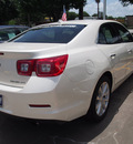 chevrolet malibu 2013 white sedan ltz gasoline 4 cylinders front wheel drive 6 speed automatic 77581
