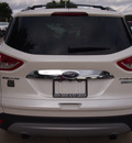 ford escape 2014 off white suv titanium gasoline 4 cylinders 2 wheel drive automatic 76011