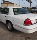 ford crown victoria 1999 white sedan lx gasoline v8 rear wheel drive automatic with overdrive 77539