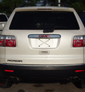 gmc acadia 2012 white suv sl gasoline 6 cylinders front wheel drive 6 speed automatic 77539