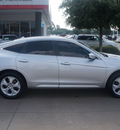 honda crosstour 2012 silver ex l v6 gasoline 6 cylinders front wheel drive automatic 76053