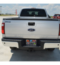 ford f 350 super duty 2012 silver xlt biodiesel 8 cylinders 4 wheel drive shiftable automatic 76230