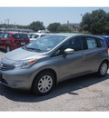 nissan versa note 2015 silver hatchback s gasoline 4 cylinders front wheel drive automatic 76116