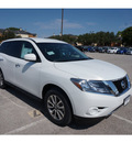 nissan pathfinder 2014 white suv s gasoline 6 cylinders 4 wheel drive automatic 76116
