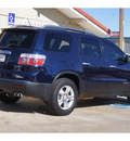 gmc acadia 2008 dk  blue suv sle 1 gasoline 6 cylinders all whee drive automatic 79110