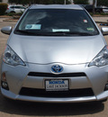 toyota prius c 2012 silver hatchback four hybrid front wheel drive automatic 77566
