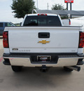 chevrolet silverado 2500hd 2015 white ltz diesel 8 cylinders 4 wheel drive automatic 76051