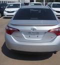 toyota corolla 2014 silver sedan s plus gasoline 4 cylinders front wheel drive cvt 76053