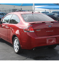 ford focus 2010 red coupe se 4 cylinders automatic 76234