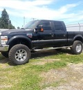ford f 250 super duty 2008 black xlt diesel 8 cylinders 4 wheel drive 6 speed manual 97211