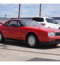 cadillac allante 1989 red v8 automatic 79110