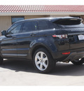 land rover evoque 2012 black suv pure gasoline 4 cylinders all whee drive automatic 79110